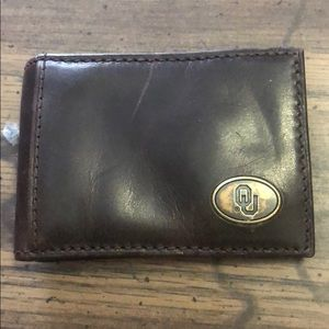Men's OKlahoma boomer sooners wallet